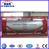 액화천연가스 0.6-1.6MPa 작업 압력 경량 탱크 콘테이너