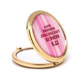 Specchio Pocket dorato rotondo Cm-1234 del ricordo domestico della decorazione