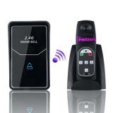 Sonnette de porte à système d'interphone sans fil 2.4G avec caméra extérieure