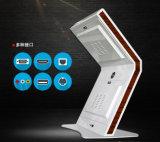 Панель/видео-плейер LCD 47 дюймов рекламируя киоск экрана касания индикации