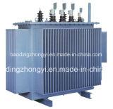 Olio scendere a tre fasi sigillato pieno di distribuzione di energia - trasformatore riempito 2500kVA