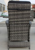 Mtc-242 Wicker Patio Rattan Outdoor Garden Furniture Conjunto de cadeiras reclináveis ​​para jantar