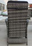 Mtc-242 Wicker Patio Rattan Outdoor Garden Furniture Conjunto de cadeiras reclináveis para jantar