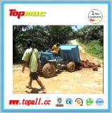 Descargador del alimentador agrícola de China Topall para el petróleo de palma de la granja Fram