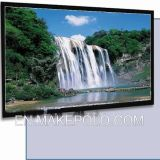 Örtlich festgelegter Rahmen Projetcion Bildschirm mit flexiblem Weiß/Grey/3D