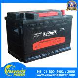 батарея автомобиля 75D31r 12V75ah безуходная