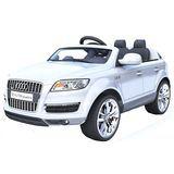 1452001 - Véhicule de RC pour l'entraînement de remplissage du véhicule électrique des enfants de roues d'Audi Q7 quatre avec les bébés à télécommande de bébé de véhicule de jouet qui peuvent reposer la croix