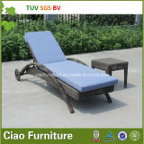 Do Lounger ensolarado de vime ao ar livre da praia do Rattan de H-SGS China Sell quente