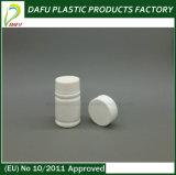 Bottiglia di pillola di plastica di figura rotonda dell'HDPE 25ml