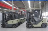 Un 2.5t Diesel Forklift with Original Japanese Isuzu Engine and Triplex 7.0m Mast (CPCD25)
