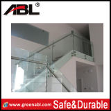 Trilhos de vidro do balcão do aço inoxidável (DD002)