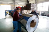 A cor azul da venda quente revestida galvanizou a bobina de aço