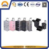 Grandes casos cosméticos de alumínio da beleza para o salão de beleza (HB-3313)