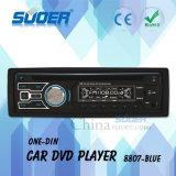 Jugador del coche DVD/VCD/CD/MP3/MP4 del reproductor de DVD del coche del estruendo del precio de fábrica de Suoer uno con CE&RoHS (8807-Blue)