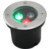 Openlucht Waterdichte RGB LEIDEN Ondergronds Licht met Ce RoHS