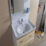 Side CabinetのWall Mounted簡単なPVC Bathroom Vanity