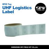 De UHF Afgedrukte Markering van de Logistiek van het Etiket van het Pakket RFID Vreemde H3 9620