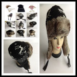 كلاسيكيّة أسلوب بيع بالجملة [أونيسإكس] أكريليكيّة جديدة نمط فتى وبنات صوف [نيت] [بني] قبعة