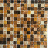 Плитка мозаики смешанного цвета стеклянная для плавательного бассеина (FYSND58E)