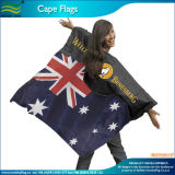 Esportes Fan Body Flag Cape com National Flag (M-NF07F02023)