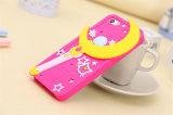 Tipo caixa do gato da estrela dos bastões de Sailor Moon do telefone do silicone para a galáxia A3 A5 A7 de Samsung (XSF-054)