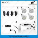 Hight QualitätssolarhauptLihting System mit 4PCS 2watt LED Birnen