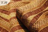 Tela de Chenille del item de la raya para el Slipcover del sofá