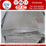 110G/M2 ponen en cortocircuito el geotextil de la fibra en la fábrica de USD0.16/M2 EXW Dezhou para pavimentar el camino