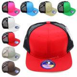 Gorra de béisbol llana de Meshback del color del camionero (A339)