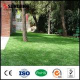 Anti-UVgrün EVP arbeiten verwendeter künstlicher Gras-Rasen im Garten