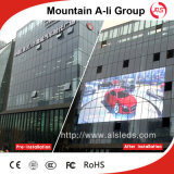 Factory Sale Outdoor P15.625 Full Color LED Grid Curtain Screen