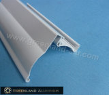 Window di alluminio Curtain Roller Blinds Head Track con Powder Coating White