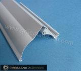 Pista capa dei ciechi di rullo della finestra di alluminio con bianco del rivestimento della polvere