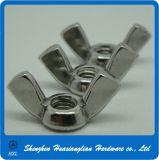 Acier inoxydable 304 ecrou-papillon du papillon 316 DIN315