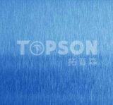 Cor decorativa inoxidável do cetim da chapa de aço no. 4 de Topson para a decoração Home