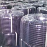 Glatter schwarzer Gummiindustrie-Oberflächenschlauch