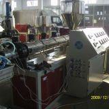 Pp.-/PET/Kurbelgehäuse-Belüftung hölzerne Plastikprofil-Strangpresßling-Maschine