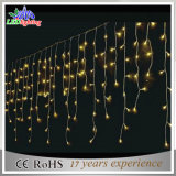 Luz azul da corda do fio branco impermeável do PVC do diodo emissor de luz da decoração do Natal