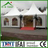 Gazebo extérieur de tente d'écran de jardin de meubles de 5m x de 5m