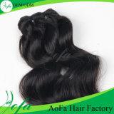 100%の加工されていないミンクのBarzilianのバージンの毛の人間の毛髪の拡張