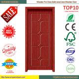 Moderne Art-beste Qualitäts-PVC-überzogene hölzerne Tür