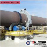 Incinerador giratório da recusa horizontal do cilindro