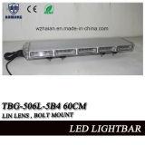 24 Stroboscoop Lightbar van de Lens van de duim zet de Lineaire Slanke Mini voor de Voertuigen van de Noodsituatie met Bout op