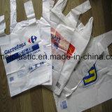Sacchetto di plastica della maglietta della maglietta del sacchetto del sacchetto medio della maglia per acquisto