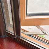 Kz260 het Kleurrijke Openslaand raam van het Profiel UPVC met de Klamboe van de Rol