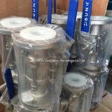 фланец шарикового клапана 3PC кончает пусковую площадку установки Pn16-Pn40 ISO5211