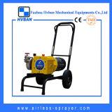 Matériel privé d'air de pulvérisateur de peinture de membrane électrique