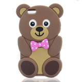 De Dekking van de Telefoon van het Silicone van het Geval van de Panda van het beeldverhaal voor iPhone 7 7plus LG K7 K10 P8 P9 (xs-16070801)