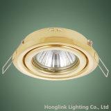 제조자 경사에 의하여 중단되는 천장 Downlight 정착물 GU10 MR16 램프 홀더 Downlight