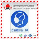 Het Weerspiegelende Afdekken van de Rang van de Reclame van het Type van huisdier voor de Reclame van Tekens die Raad (TM3100) waarschuwen